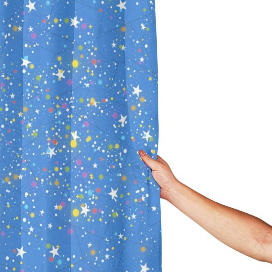 Somalia Shower Curtain , Shower Bathroom Curtain 55x72 Inch Waterproof Fabric with Hooks , Wildly used in bathroom and hotel etc.