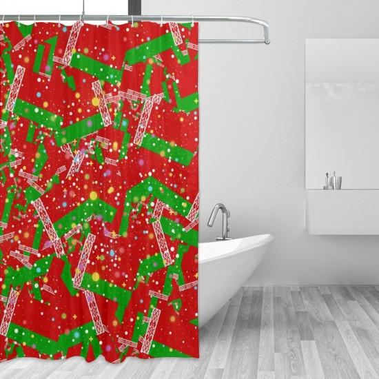 Belarus Shower Curtain , Shower Bathroom Curtain 55x72 Inch Waterproof Fabric with Hooks , Wildly used in bathroom and hotel etc.