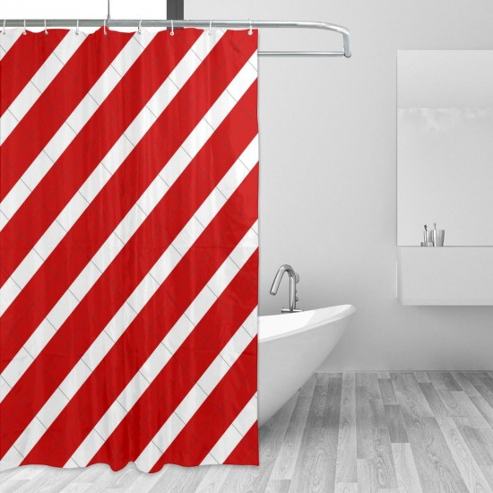 Peru Shower Curtain , Shower Bathroom Curtain 55x72 Inch Waterproof Fabric with Hooks , Wildly used in bathroom and hotel etc.
