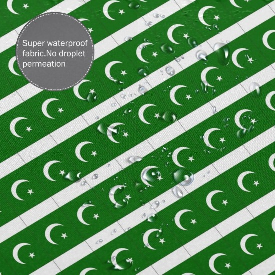 Pakistan Shower Curtain , Shower Bathroom Curtain 55x72 Inch Waterproof Fabric with Hooks , Wildly used in bathroom and hotel etc.