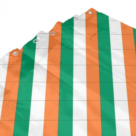 Ireland Shower Curtain , Shower Bathroom Curtain 55x72 Inch Waterproof Fabric with Hooks , Wildly used in bathroom and hotel etc.