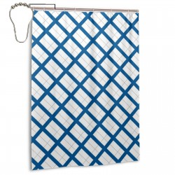 Finland Shower Curtain , Shower Bathroom Curtain 55x72 Inch Waterproof Fabric with Hooks , Wildly used in bathroom and hotel etc.