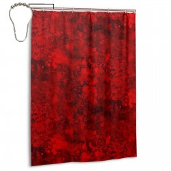 Blood Pattern Blody Shower Curtain , Shower Bathroom Curtain 55x72 Inch Waterproof Fabric with Hooks , Wildly used in bathroom and hotel etc.