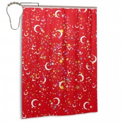 Turkey Shower Curtain , Shower Bathroom Curtain 55x72 Inch Waterproof Fabric with Hooks , Wildly used in bathroom and hotel etc.