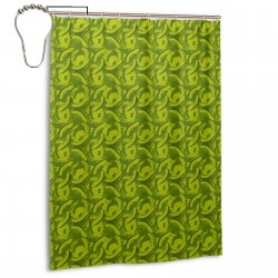 Art Avocado Shower Curtain , Shower Bathroom Curtain 55x72 Inch Waterproof Fabric with Hooks , Wildly used in bathroom and hotel etc.