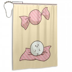 Cats Creative Shower Curtain , Shower Bathroom Curtain 55x72 Inch Waterproof Fabric with Hooks , Wildly used in bathroom and hotel etc.