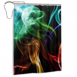 Mota 3d Shower Curtain , Shower Bathroom Curtain 55x72 Inch Waterproof Fabric with Hooks , Wildly used in bathroom and hotel etc.